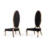 Steadman Velvet Upholstered Side Chair in Black (Set of 2) by Rosdorf Park