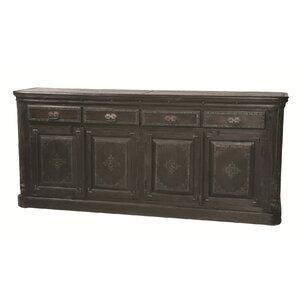 Wilmington 4 Drawer Pillar Sideboard by MOTI Furniture