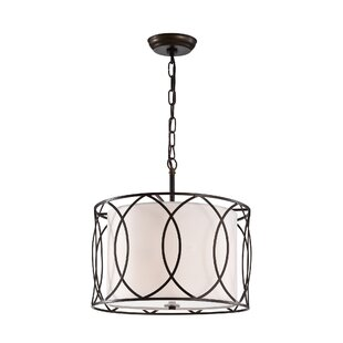 Naethe 3-Light Drum Chandelier