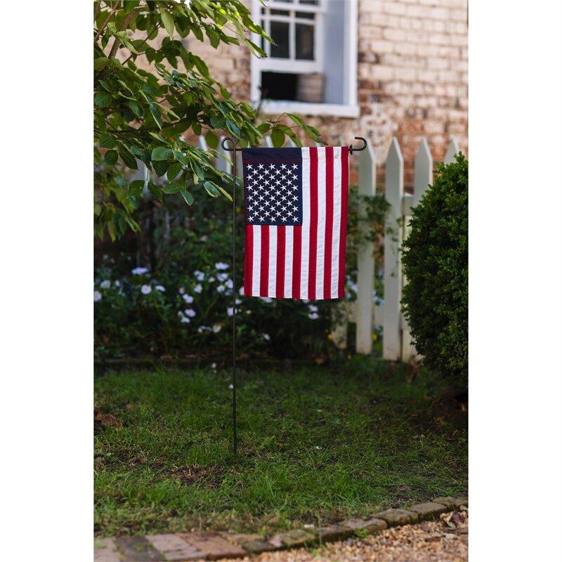 Trinx American 2 Sided Nylon 48 X 72 Garden Flag Reviews Wayfair