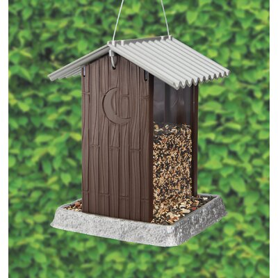North States Outhouse Hopper Bird Feeder (Set of 4)