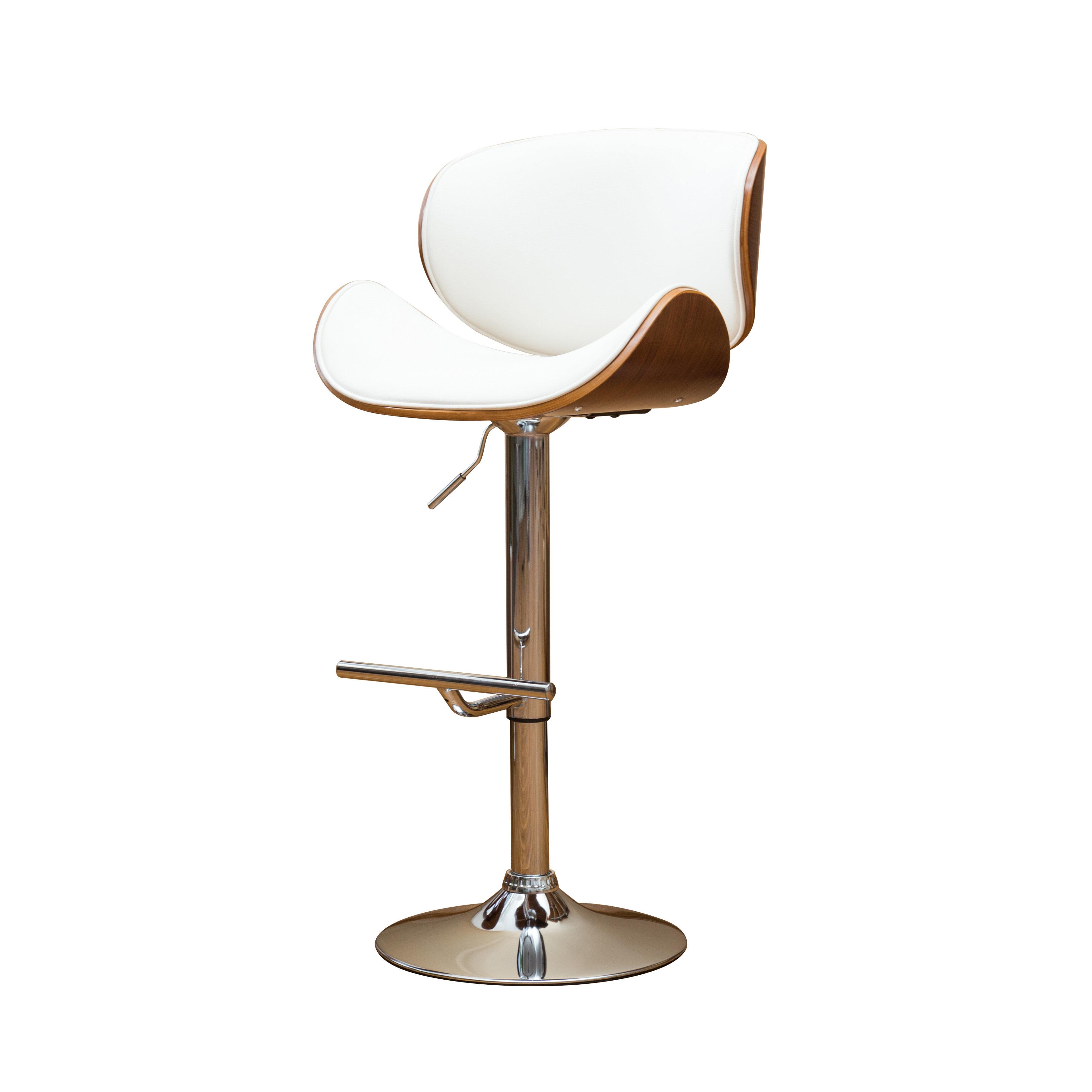 Peachy Bissett Adjustable Height Swivel Bar Stool Uwap Interior Chair Design Uwaporg
