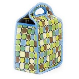 Neoprene Circles and Squares Tote