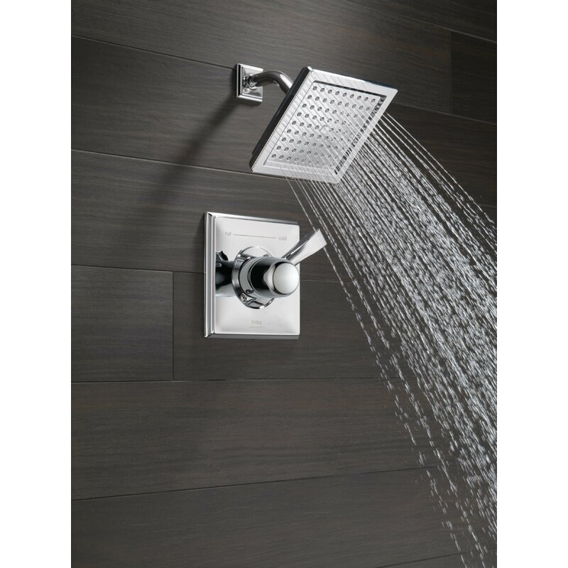 Dryden™ Diverter Shower Faucet With Monitor