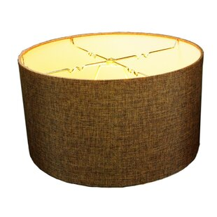 Oatmeal Hardback 14 Linen Drum Lamp Shade