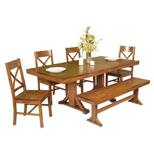 Faulkner 6 Piece Extendable Breakfast Nook Dining Set Home Loft Concepts