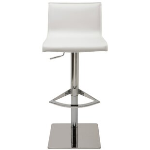 Colter Adjustable Height Swivel Bar Stool