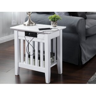 Compare Amethy Charging Station End Table By Grovelane Teen