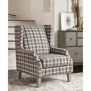 Sheraton Wingback Chair by Gracie Oaks