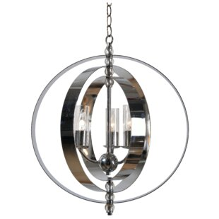 Pilger 5-Light Globe Chandelier