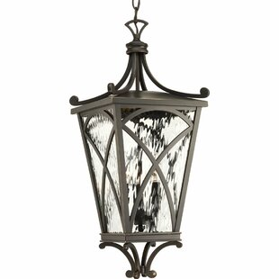Alexandra 3-Light Outdoor Hanging Lantern
