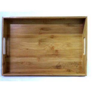 Theirry Bamboo Serving Tray with Antipasto Engraved