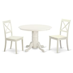 Sherlock 3 Piece Dining Set by August Grove Today Only Sale