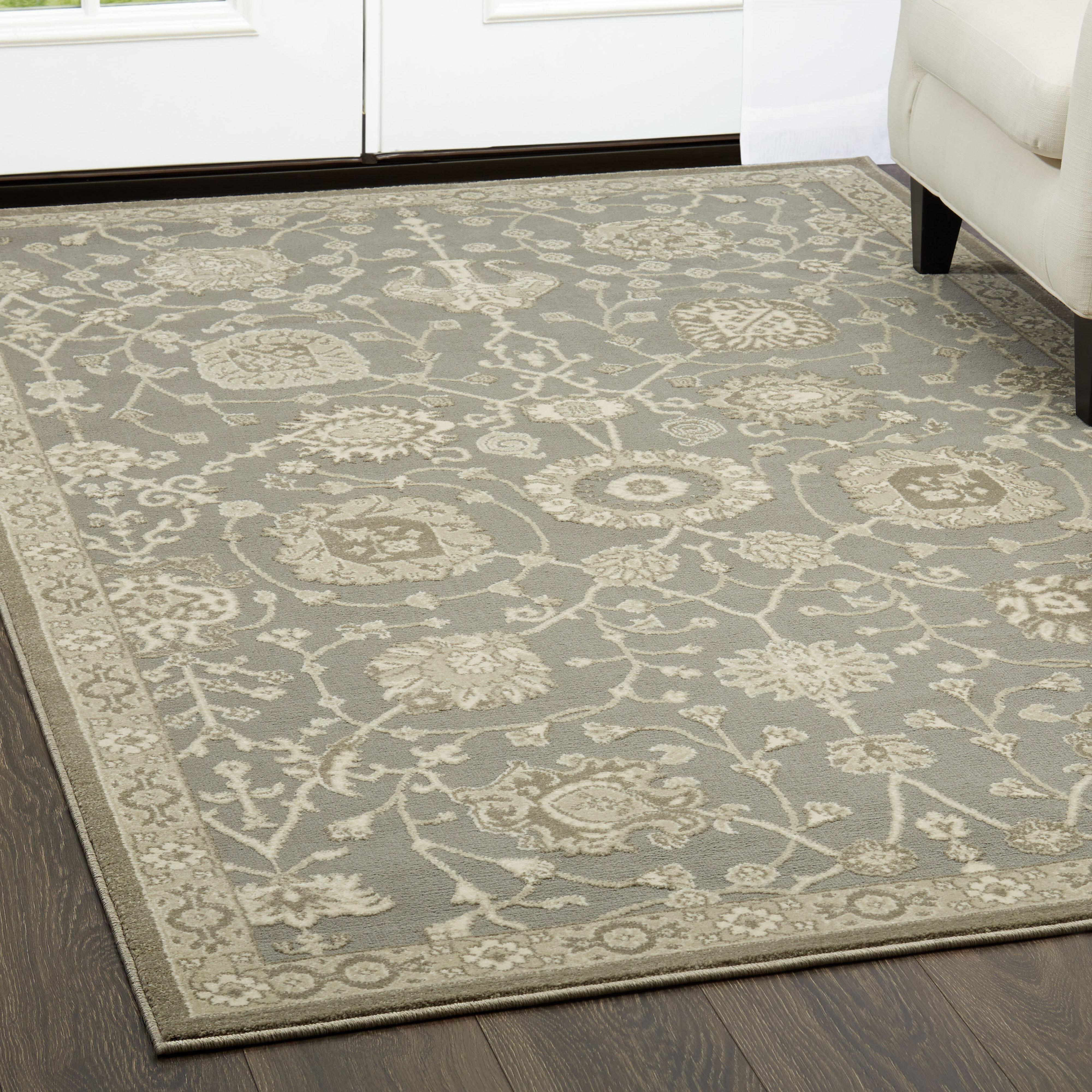 Shabbychic Oriental Gray Area Rug Reviews Wayfair