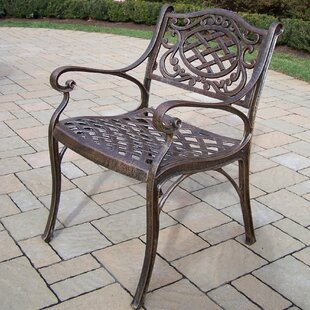 Mississippi Patio Dining Chair with Cushion