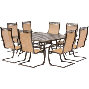 Buariki 9 Piece Dining Set