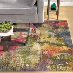 Ronda Green/Blue Indoor/Outdoor Area Rug