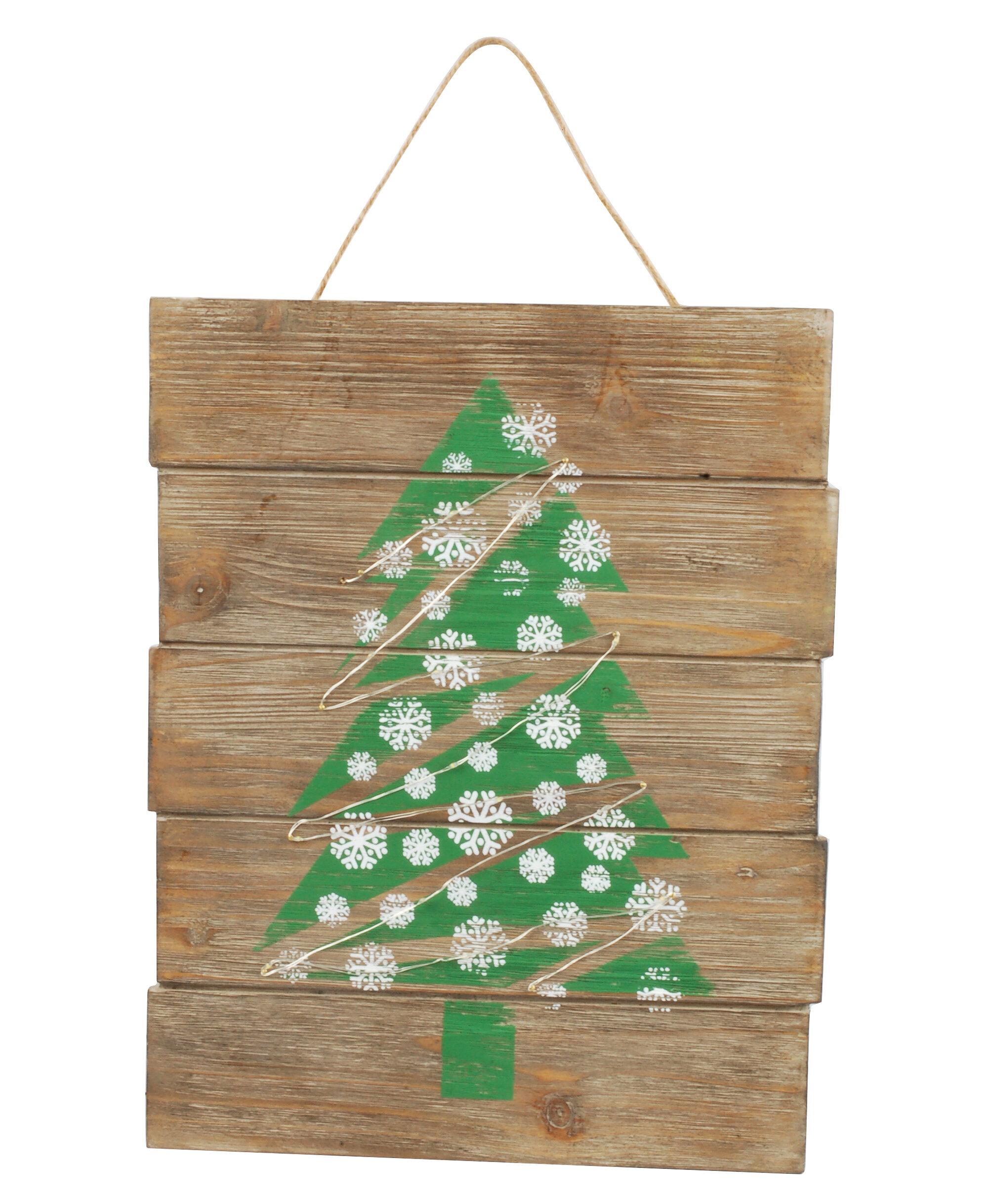 the holiday aisle christmas tree led illuminated wooden sign wayfair - Wooden Led Christmas Decoration