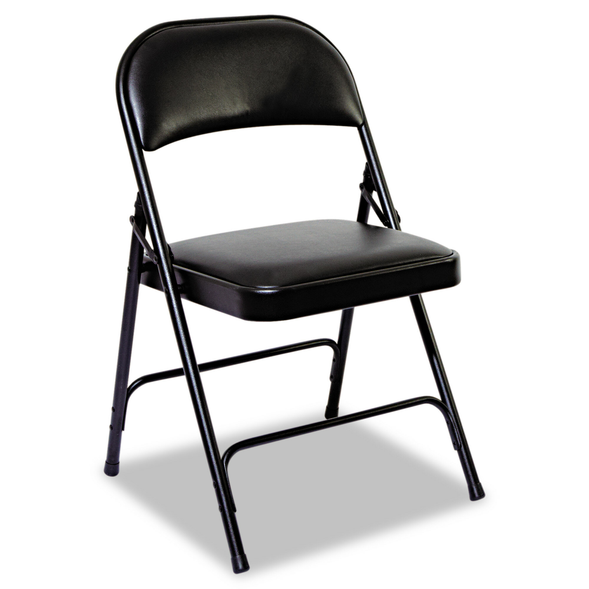 Incredible Fabric Vinyl Padded Folding Chair Pabps2019 Chair Design Images Pabps2019Com