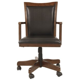 Industrial office chair Aviator Keefe Desk Chair Wayfair Industrial Rustic Desk Chairs Youll Love Wayfair