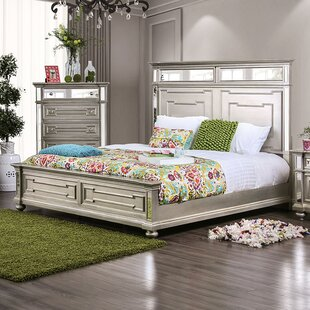 Amberly Panel Bed by House of Hampton Best #1