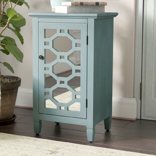 Cockrell Hill Mirrored Door Accent Cabinet by Bungalow Rose