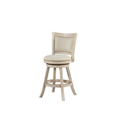 Outstanding Greyleigh Guilford 24 Swivel Bar Stool Color Ivory Wire Brush Inzonedesignstudio Interior Chair Design Inzonedesignstudiocom