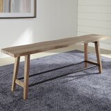 Donny Solid Wood Bench by Loon Peak®