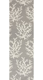 Clearance Byard Light Gray& White Area Rug By Highland Dunes