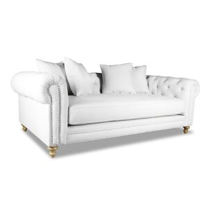 Esters Plush Deep Chesterfield Sofa by Darby Home Co
