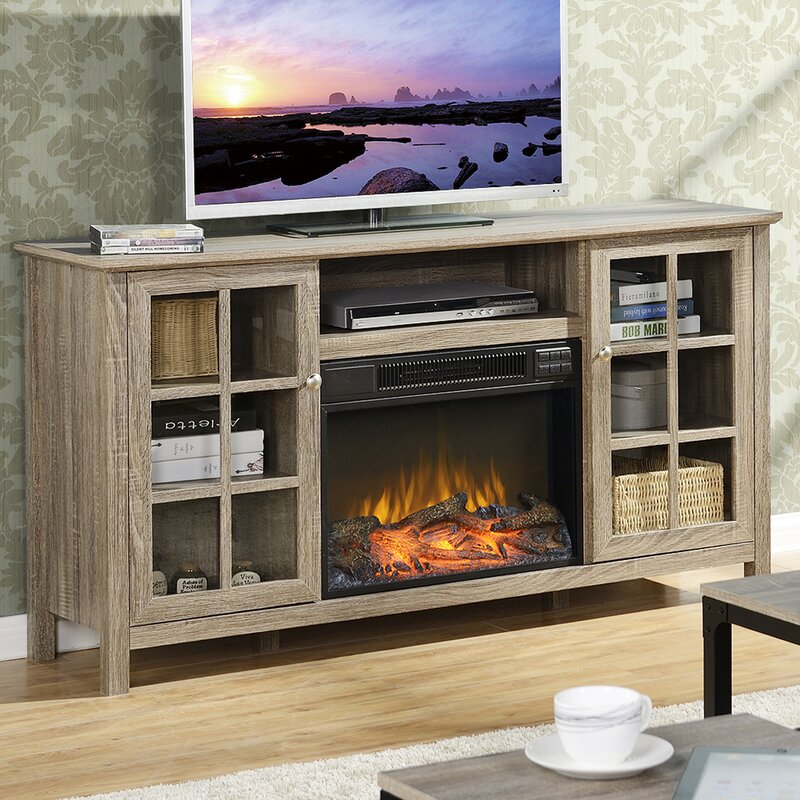 Laurel Foundry Modern Farmhouse Benoit 60 TV Stand with Electric