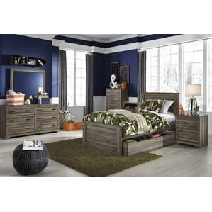 Aleah Storage Trundle Panel Customizable Bedroom Set