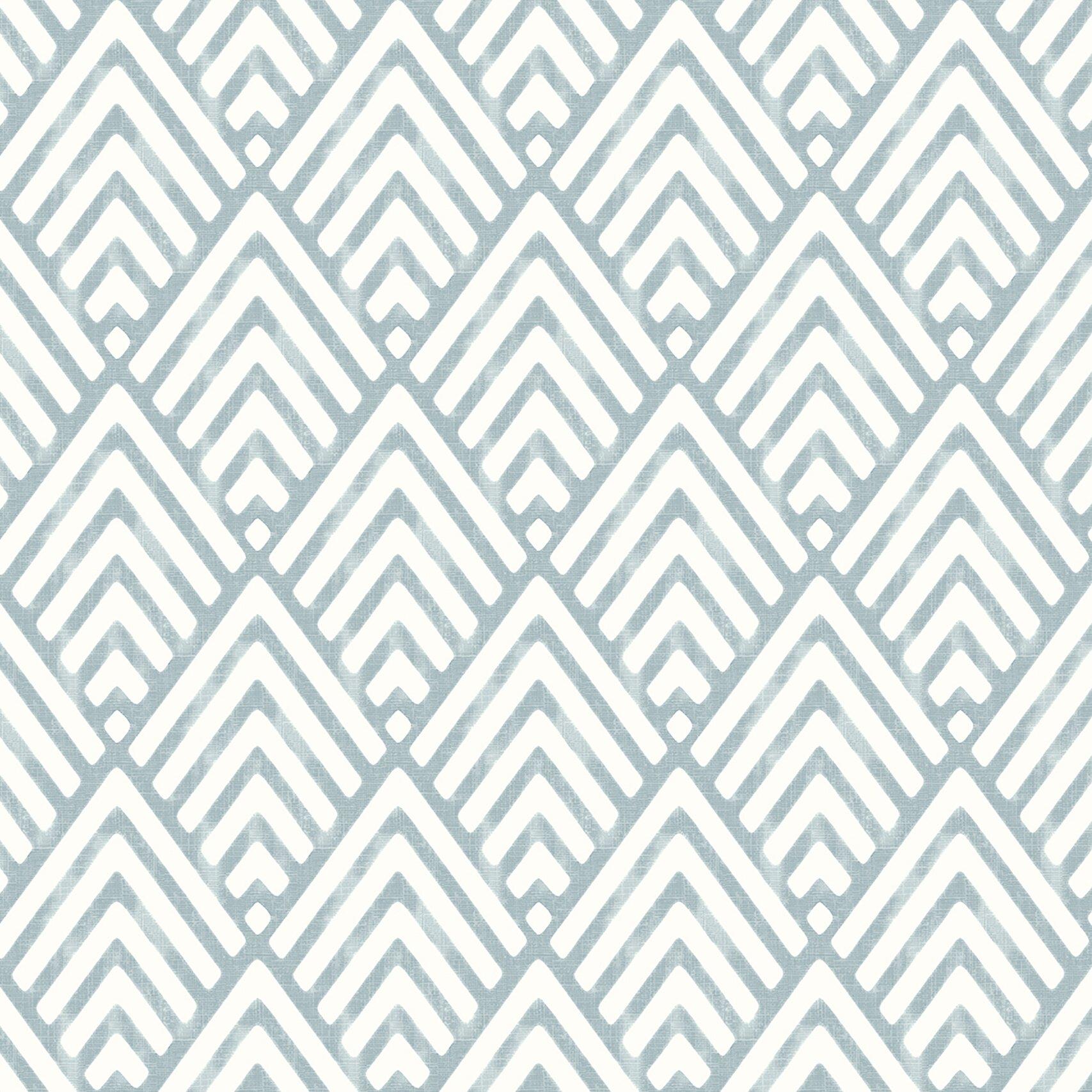 Brewster Home Fashions Sample - Symetrie Vertex Diamond Geometric ...