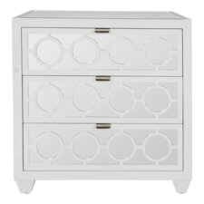 3 Drawer Bachelor's Chest by Worlds Away