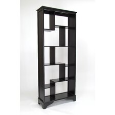 78 Accent Shelves Bookcase by Wayborn