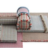 Garden Layers Tartan Outdoor Euro Pillow