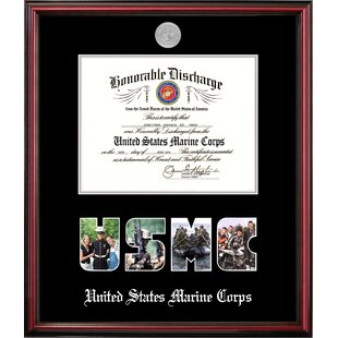 Marine Discharge Petite Picture Frame By Patriot Frames