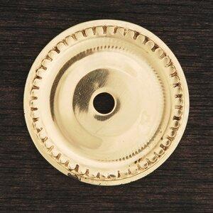BP Series Beaded Single Hole Backplate
