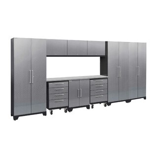 Performance Plus 2.0 Series 10 Piece Storage Cabinet Set by NewAge Products