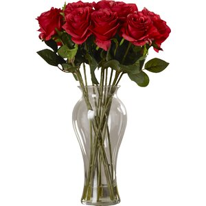 Shire Roses in Vase