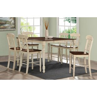 7 Piece Counter Height Dining Set Infini Furnishings