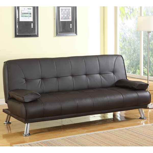 Wade Logan Eastville 3 Seater Sofa Bed Amp Reviews Wayfair