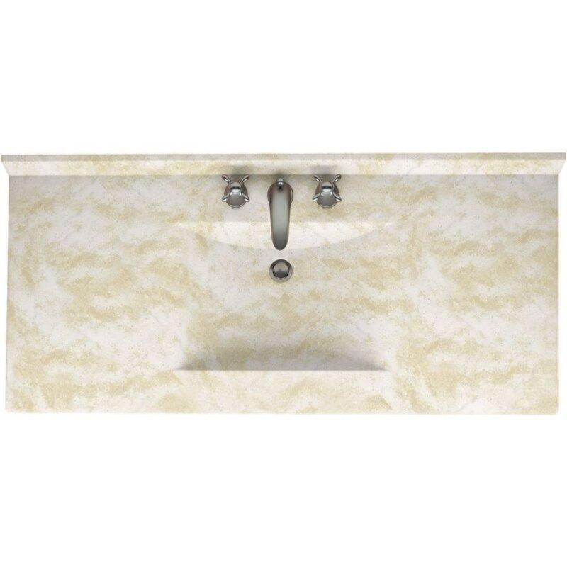 """Bathroom Vanities Lakeland Fl swanstone 43"""" single bathroom vanity top & reviews   wayfair"""