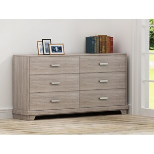 Avalos 6 Drawer Double Dresser