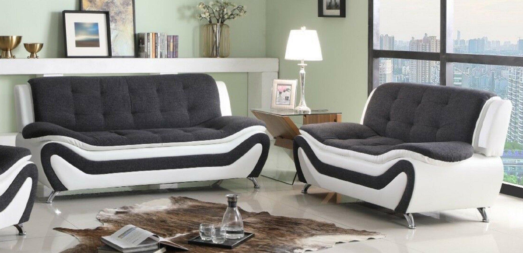 Orren Ellis Aymen 2 Piece Standard Living Room Set Wayfair
