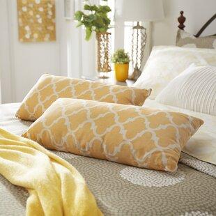 Wilmer Kidney Linen Lumbar Pillow (Set of 2)