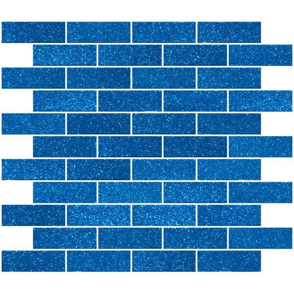 Gl Subway Tile In Glossy Cobalt Blue