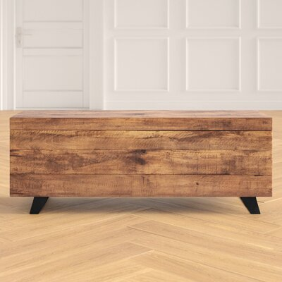 Ovid Solid Wood Lift Top Sled Coffee Table With Storage Joss Main