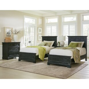 Farmhouse Twin Panel 5 Piece Bedroom Set