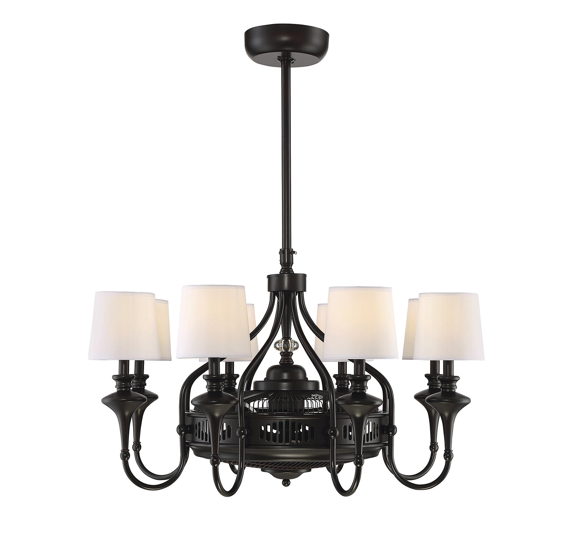 Brennan Ceiling Fan Chandelier & Reviews